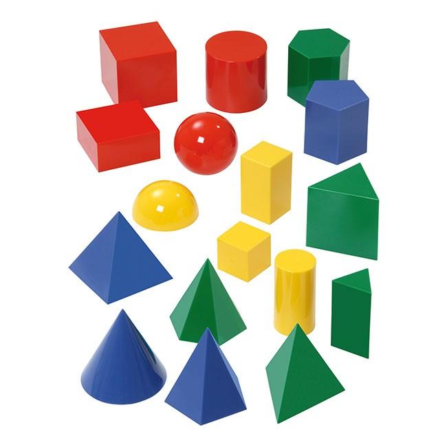 plastove farebne zakladne telesa pre skoly