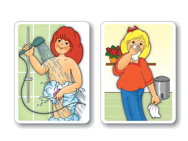 magneticke karty na vyuku temy hygiena ludskeho tela
