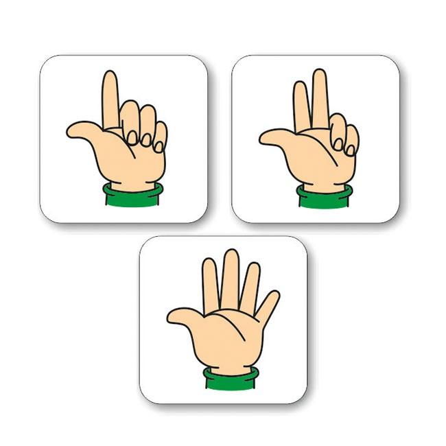 magneticke karty - prsty